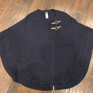 Talbots cape sweater
